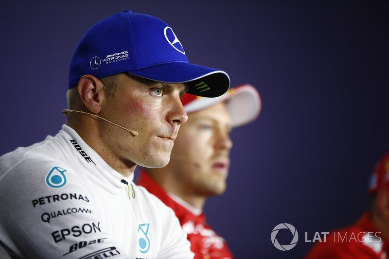 Прес-конференція після кваліфікації: третє місце Валттері Боттас, Mercedes AMG F1