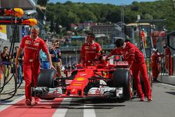 Coche de Kimi Raikkonen, Ferrari