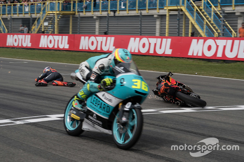 7. Joan Mir, Leopard Racing, Bo Bendsneyder, Red Bull KTM Ajo