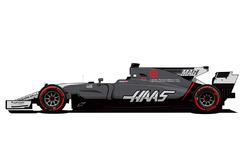 Haas F1 Team Monaco livery
