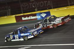 Austin Cindric, Brad Keselowski Racing, Ford; Ben Rhodes, ThorSport Racing, Toyota
