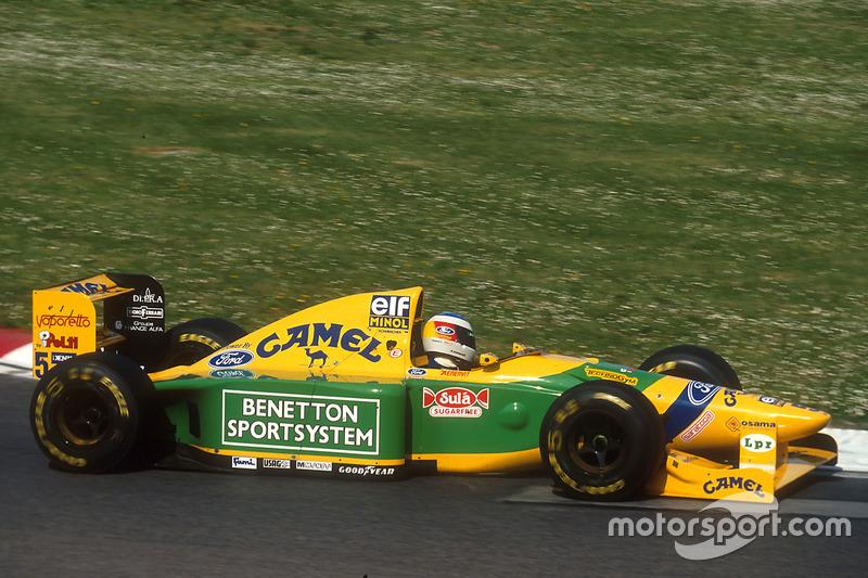 Michael Schumacher, Benetton