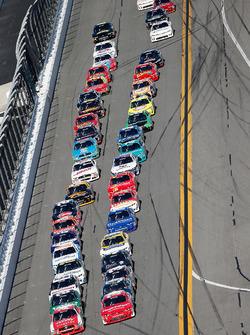 Start: Brandon Jones, Richard Childress Racing, Chevrolet, führt