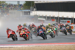 Start: Jorge Lorenzo, Ducati Team, Marc Marquez, Repsol Honda Team lead