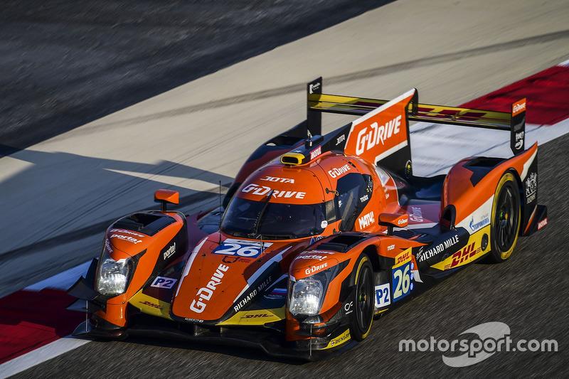 10. LMP2: #26 G-Drive Racing, Oreca 05 - Nissan: Roman Rusinov, Alex Brundle, René Rast