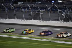 Matt Kenseth, Joe Gibbs Racing Toyota, Kyle Busch, Joe Gibbs Racing Toyota, Denny Hamlin, Joe Gibbs Racing Toyota, Daniel Suarez, Joe Gibbs Racing Toyota
