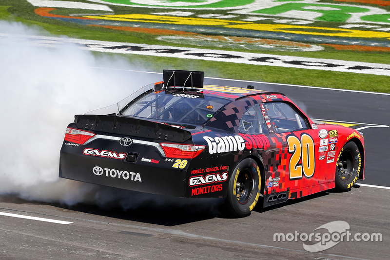 1. Erik Jones, Joe Gibbs Racing, Toyota