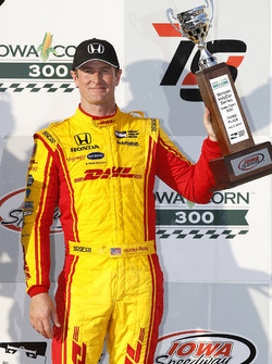 Podium: Third place Ryan Hunter-Reay, Andretti Autosport Honda