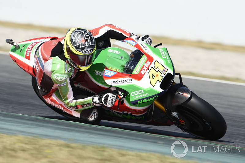 Ausfall: Aleix Espargaro, Aprilia Racing Team Gresini