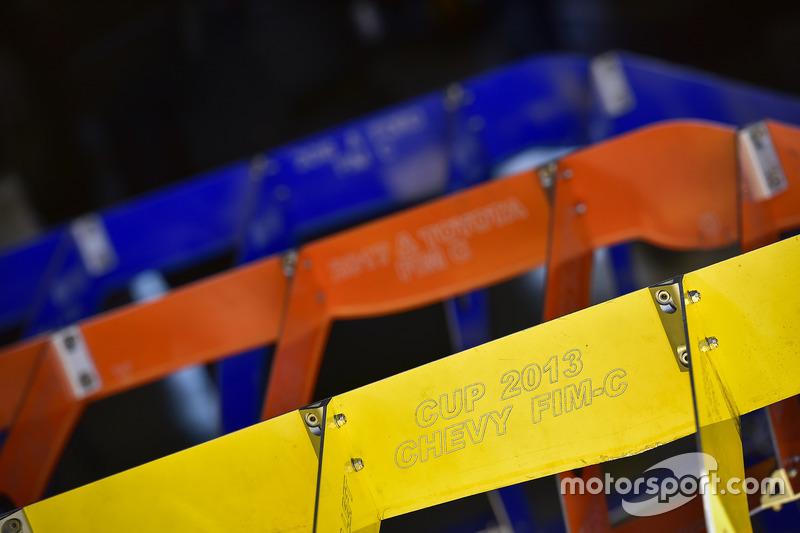 NASCAR body inspection templates