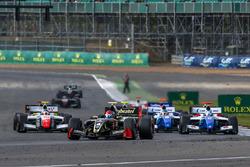 Départ : Pietro Fittipaldi, Lotus en tête de la course