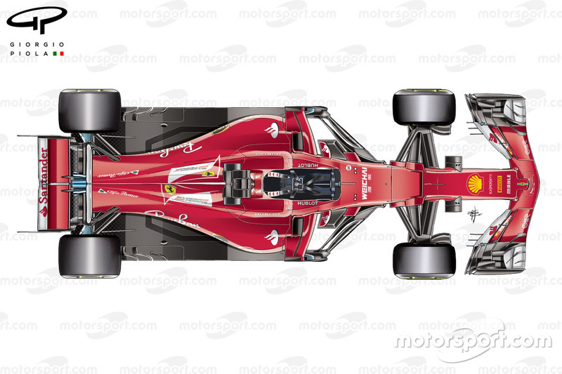 Головний вигляд Ferrari SF70H