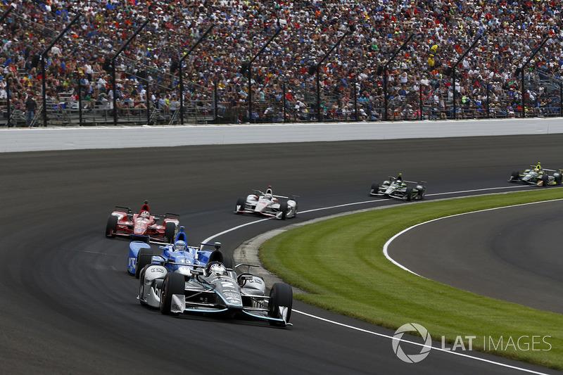 Інді-500: Джозеф Ньюгарден, Team Penske Chevrolet