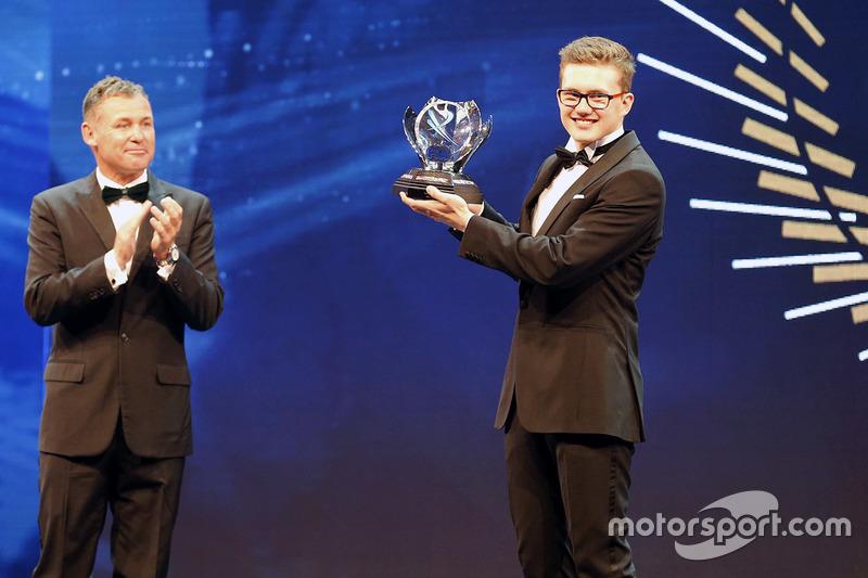 Tom Kristensen y Novato del año Kevin Hansen, Peugeot Hansen Academia