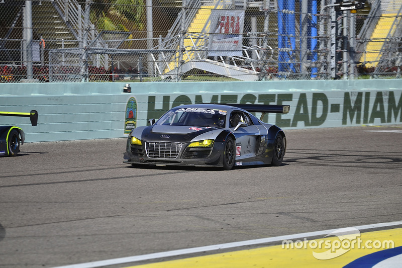 #222 MP1A Audi R8 driven by Chris Fountas & Brett Sandberg of ANSA Motorsports