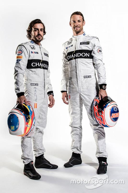 Fernando Alonso und Jenson Button, McLaren