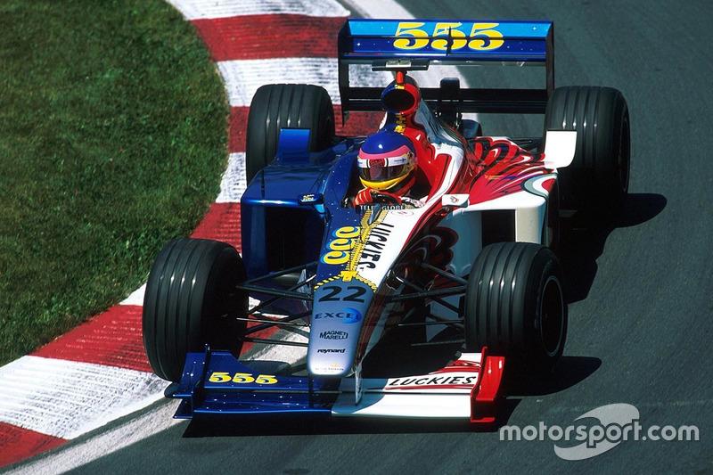 #3: BAR-Supertec 001 von 1999