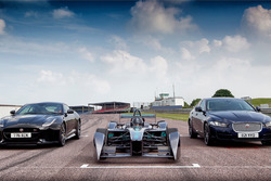 Jaguar Formula E, XE and F-Type SVR at Mallory Park