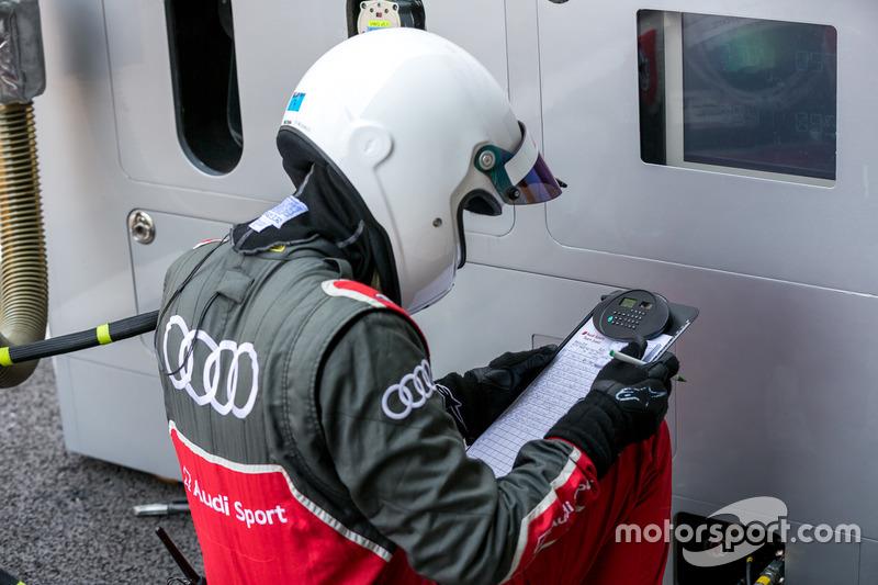Pit crew Audi