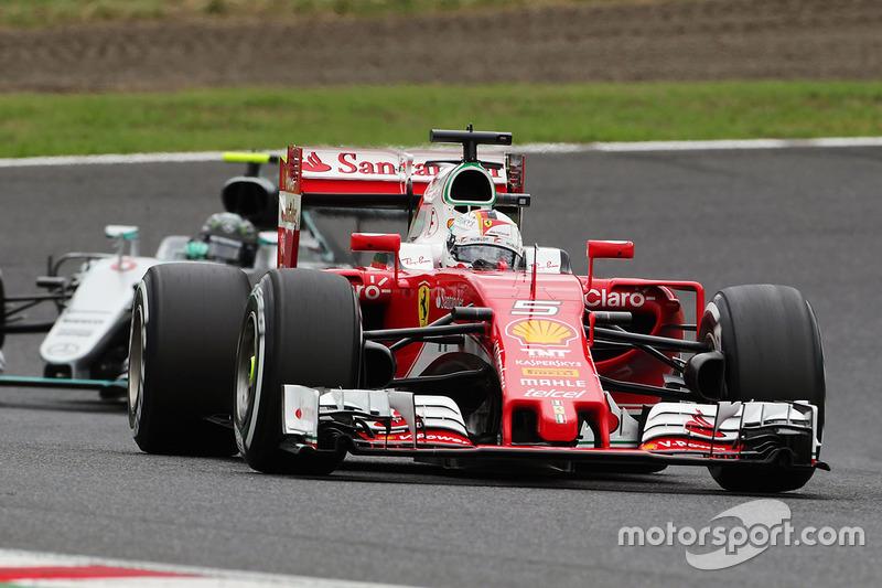 7: Sebastian Vettel, Ferrari SF16-H (incl. 3 plaatsen gridstraf)