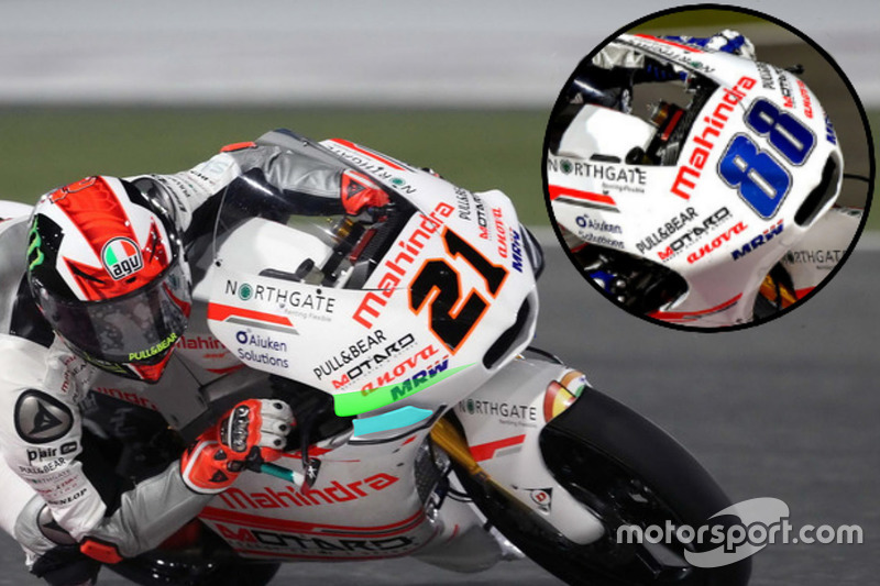 Aspar Team Mahindra detail