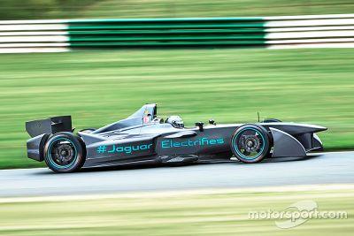 Jaguar Formula E testing