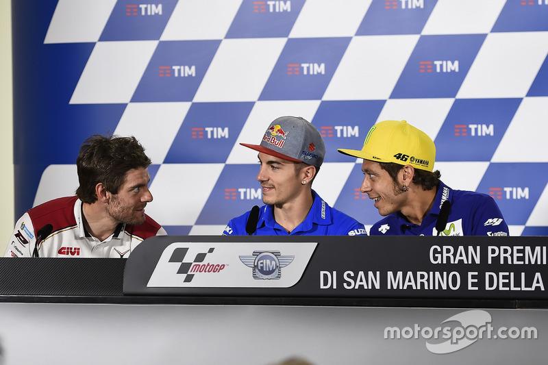 Cal Crutchlow, Team LCR Honda, Maverick Maverick Viñales, Team Suzuki Ecstar MotoGP, Valentino Rossi