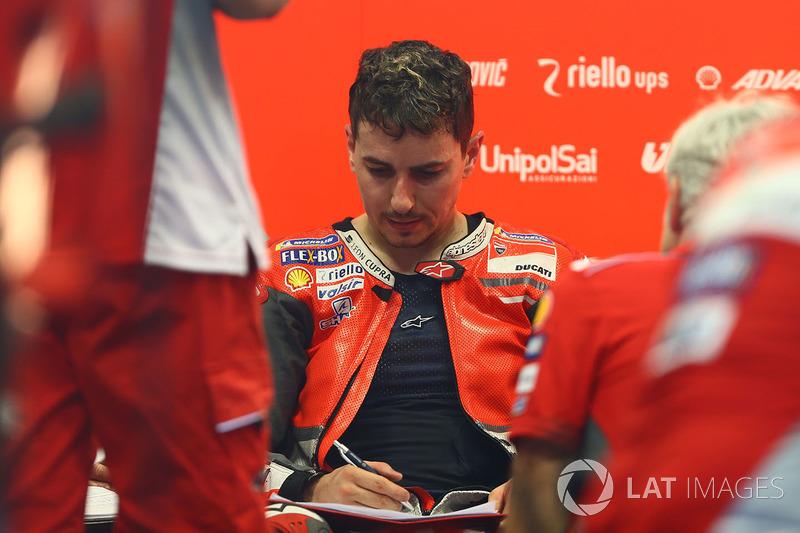 Ducati. #99 Хорхе Лоренсо