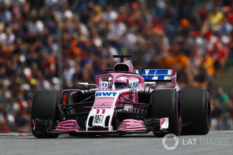 11. Серхіо Перес, Force India VJM11 — 23