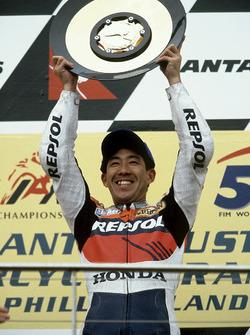 Podio: Tadayuki Okada, Repsol Honda Team