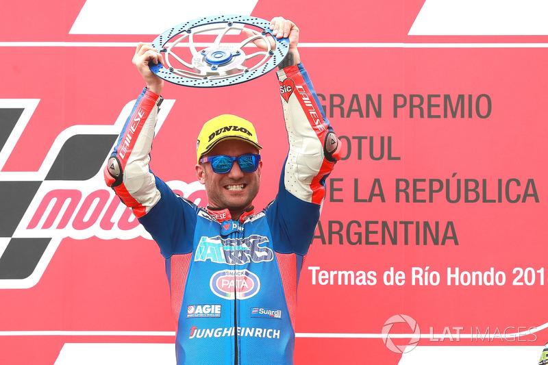 Race winner Mattia Pasini, Italtrans Racing Team