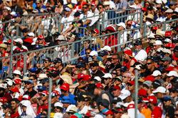El público en el GP de Hungría