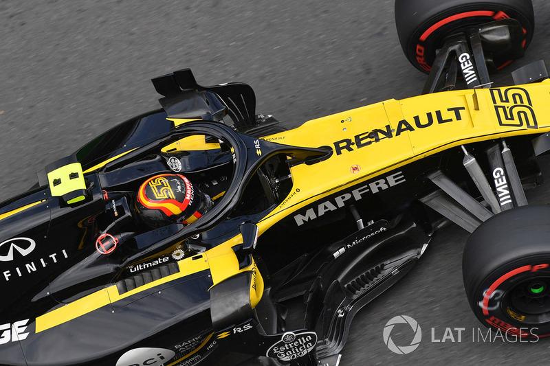 9: Carlos Sainz Jr., Renault Sport F1 Team R.S. 18, 1'43.351