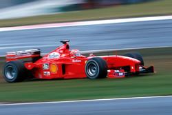 Eddie Irvine, Ferrari F399 en problemas