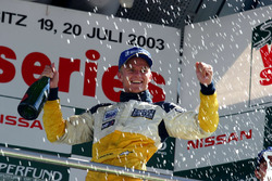2. yarış podyum: Yarış galibi Heikki Kovalainen, Gabord Competition