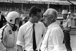 Chris Amon, Ferrari 312, Mauro Forghieri, şef mühendis ve Enzo Ferrari