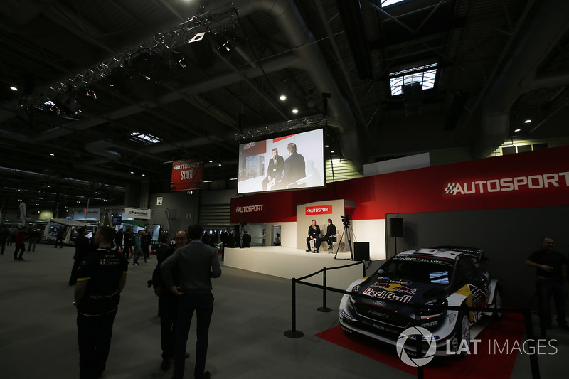 Mario Isola of Pirelli talks to Henry Hope-Frost on the Autosport Stage