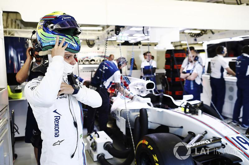 Felipe Massa, Williams en el garaje