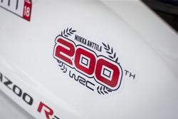 200th rally of Miikka Anttila, Toyota Gazoo Racing WRT Toyota Yaris WRC