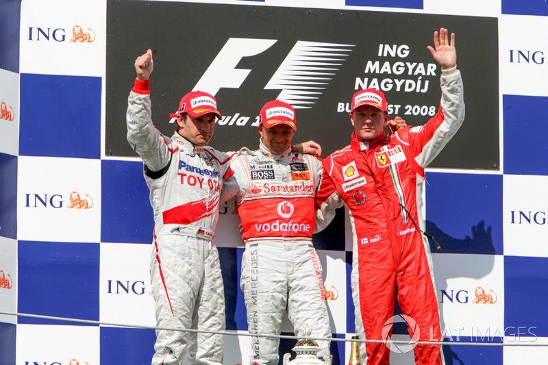 2008: Heikki Kovalainen