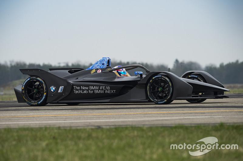 Tom Blomqvist, BMW iFE.18