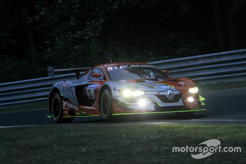 #35 GTronix 360 Team mcchip-dkr Renault RS01: Dieter Schmidtmann, Heiko Hammel, Kuno Wittmer