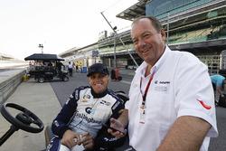 Grahame Clinton with son Max Chilton, Carlin Chevrolet