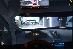 Simulator view