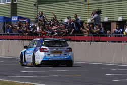 Race winner Colin Turkington, Silverline Subaru BMR Racing