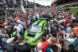 Стартова решітка, #16 GRT Grasser Racing Team, Lamborghini Huracan GT3: Rolf Ineichen, Йерун Блекемолен, Мірко Бортолотті