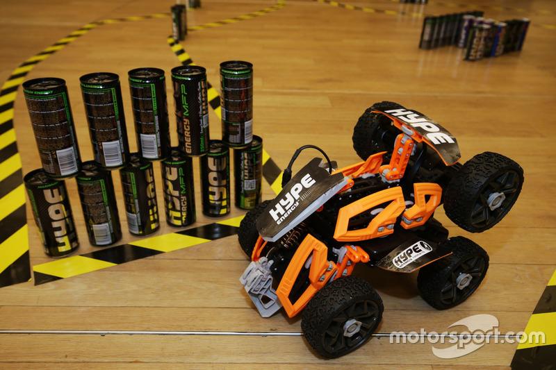 Sahara Force India F1 Team - Hype Energy Challenge