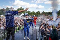 The Podium: Sébastien Buemi, Renault e.Dams; Nicolas Prost, Renault e.Dams and Daniel Abt, ABT Schaeffler Audi Sport