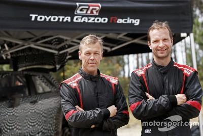 Объявление о контракте Toyota Gazoo Racing с Юхо Хянниненом