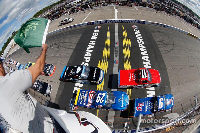 Start:  William Byron, Kyle Busch Motorsports, Toyota, führt
